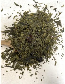 Thé vert - Sencha Myrtille