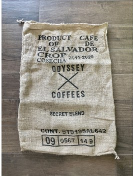 sac de café en toile de jute