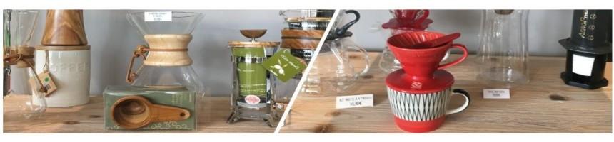 Accessoires café, méthodes douces - Vente en ligne - Couleur Café