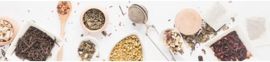 Nos différentes variétés de thés et infusions