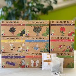 Découvrez nos INFUTHÉS, une gamme de tisanes, rooïbos et maté BIO, sans arômes, 100% recyclable et made in Tarn ! 🌱 #organic #tea #organicherbaltea #tisanebio #healthydrink #madeintarn