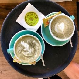 MATCHA LATTE 🌱🍵 • Poudre de thé vert traditionnelle du Japon 🇯🇵   #matchalatte #matcha #frappematcha #the #japon #coffeeshop #albi #castres #tarn